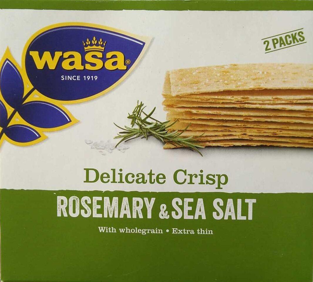 Delicate Crisp Rosemary & Sea Salt - Product