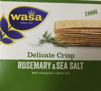 Delicate Crisp Rosemary & Sea Salt - Product