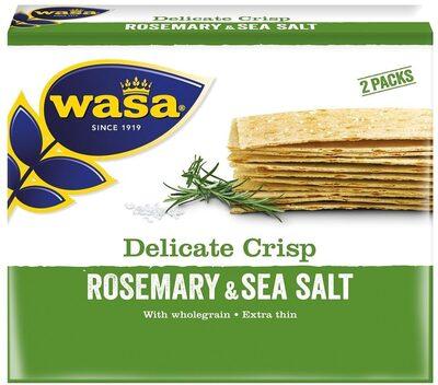 Pain croustillant Rosemary & Salt - Produit - fr