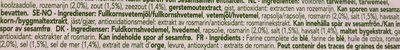 Pain croustillant Rosemary & Salt - Ingrediënten - fr