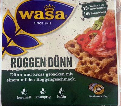Roggen Dünn - Produkt