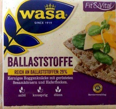 Wasa Hafer & Sesam - Prodotto - de
