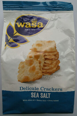 Delicate Crackers Sea Salt - Product - de