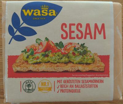 Biscotes integrales con sésamo tostado - Product - en