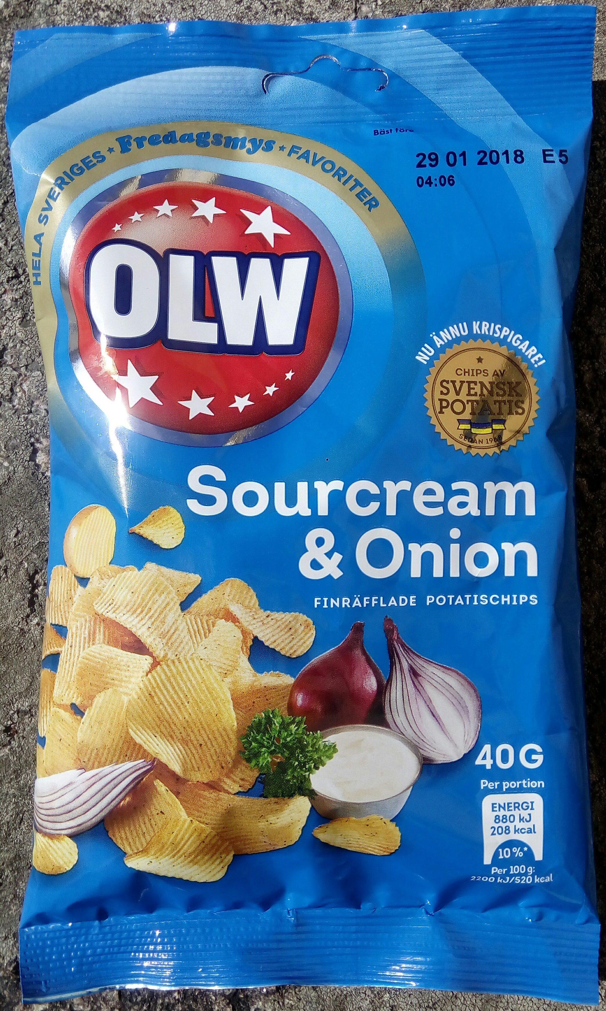 OLW Sourcream & Onion - Product
