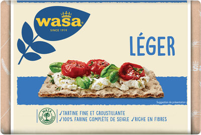 Wasa tartine croustillante leger - Product - fr