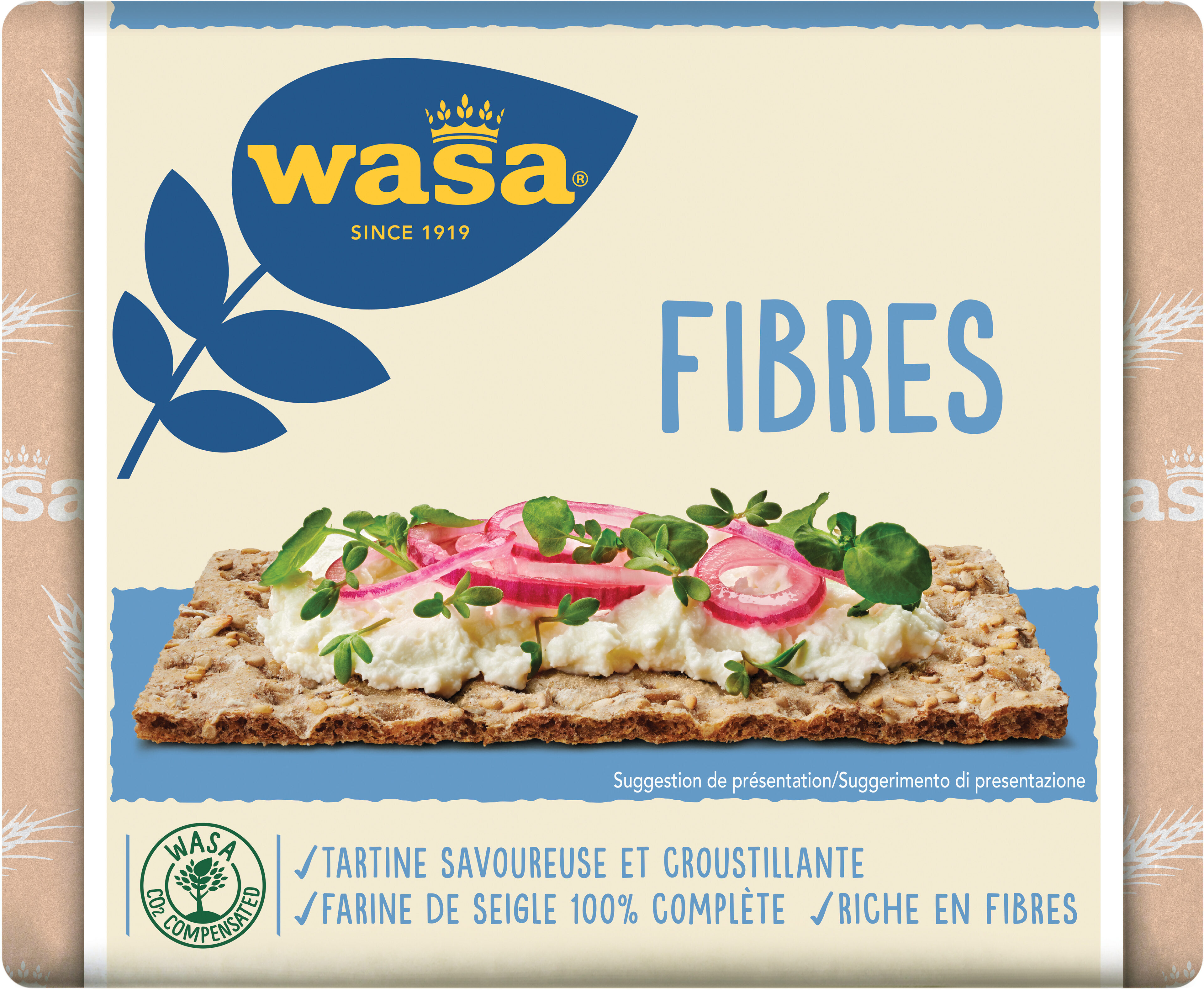 Wasa tartine croustillante fibres - Produit - fr