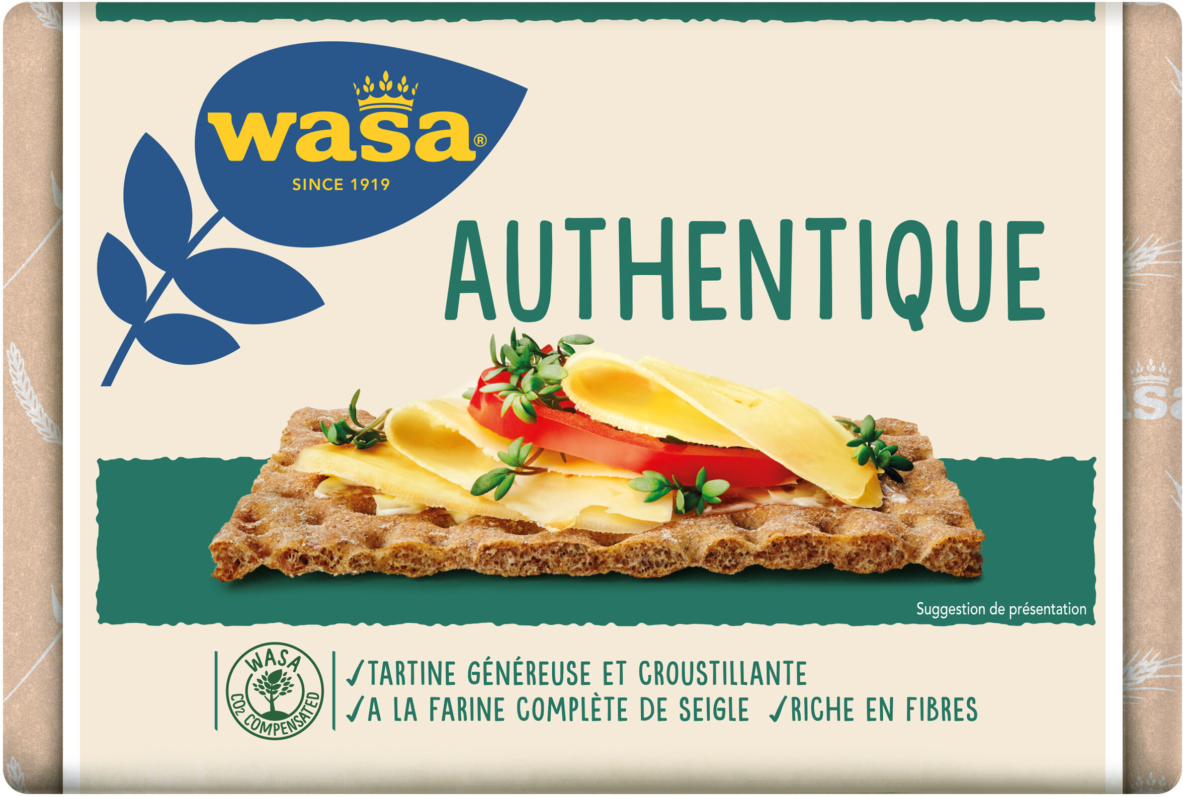Wasa tartine croustillante authentique - Product - fr