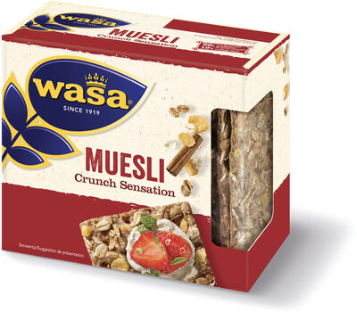 Wasa tartine croustillante crunch sensation mueslin - Product - fr