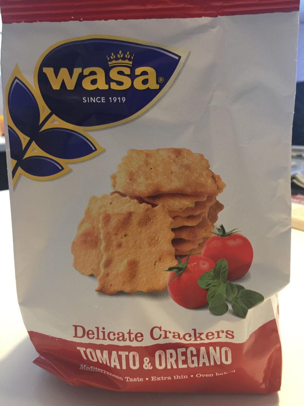 Crackers - Tomato & Oregano - Ingrédients - fr