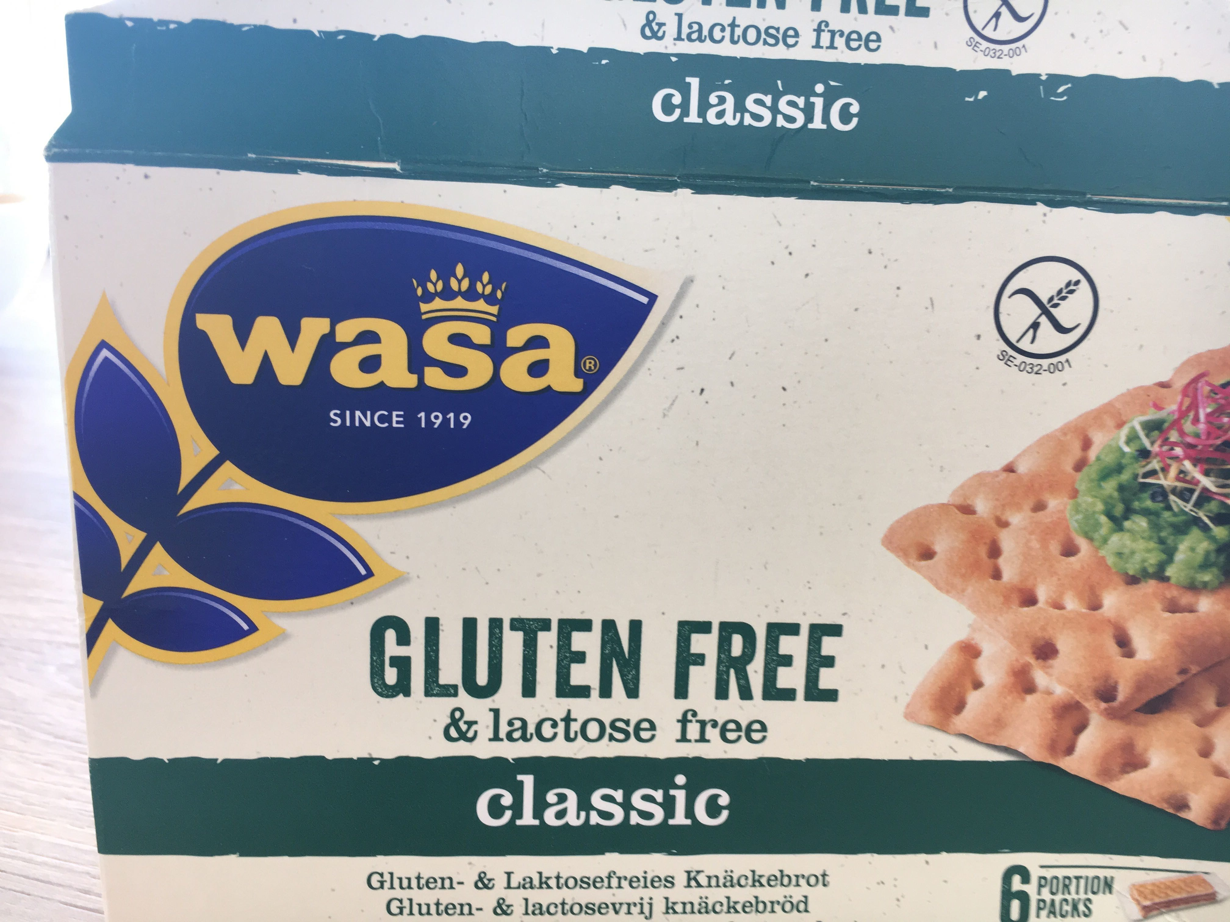Gluten free and lactose free classic - Produkt - de