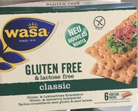 Gluten free and lactose free classic - Produit - fr
