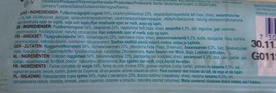 Sandwich hummus - Ingredients
