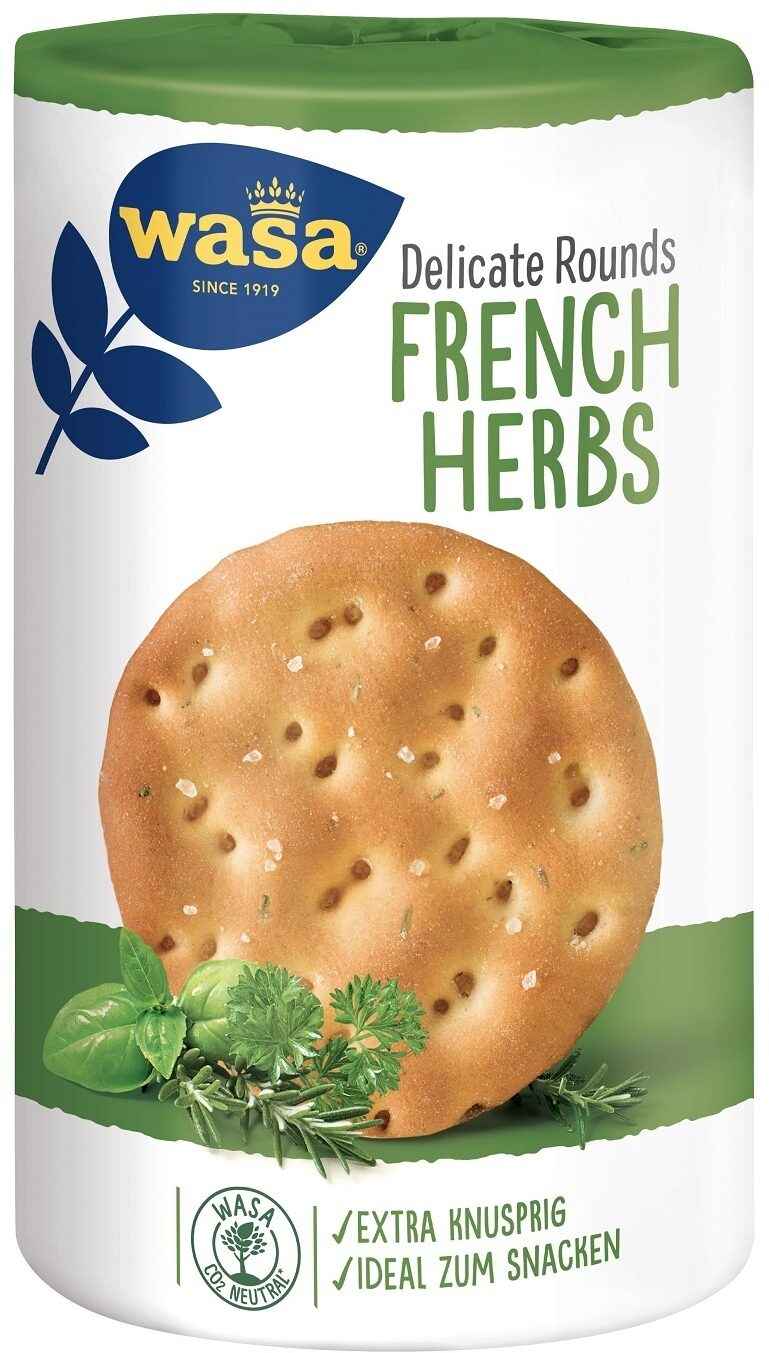 Pain croustillant Round French herb - Product - fr