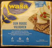 Dun rogge volkoren knäckebröd - Product - nl