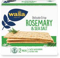 Wasa tartine croustillante delicat rosemary et sel de mer - Prodotto - fr