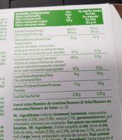 Wasa tartine croustillante delicat rosemary et sel de mer - Valori nutrizionali - fr