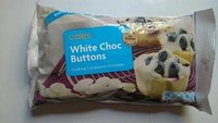 White Chocolate Cooking Buttons - Product - en