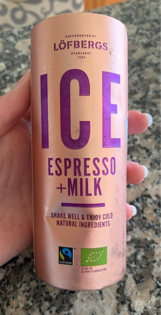 ICE espresso + milk - Produit - sv