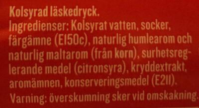Apotekarnes Julmust - Ingrédients - sv