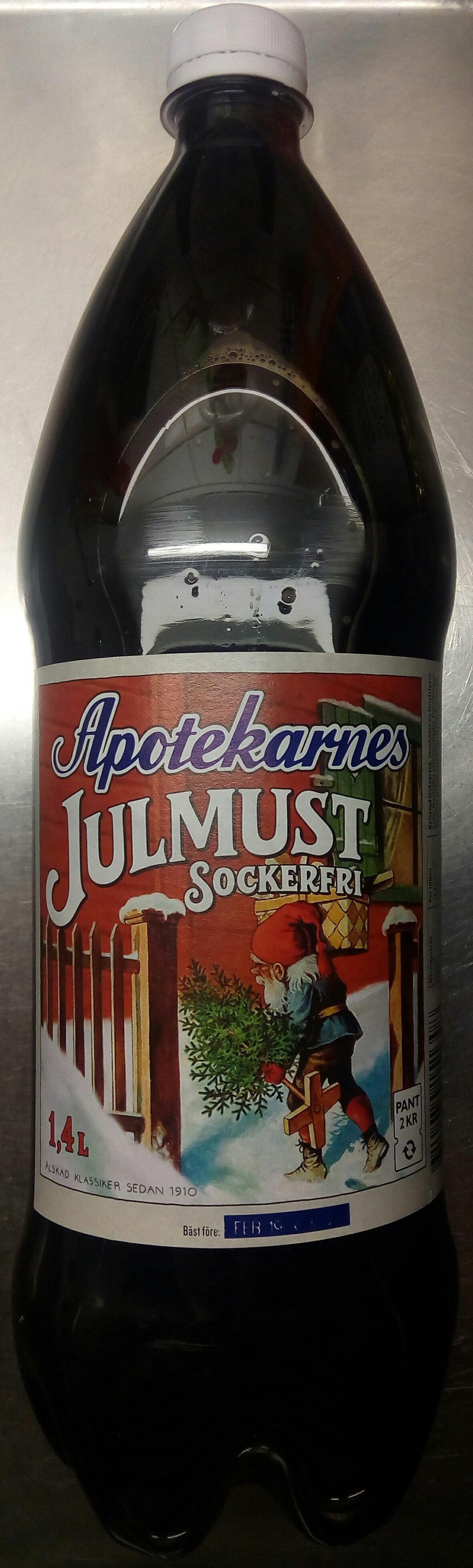 Apotekarnes Julmust Sockerfri - Produit - sv