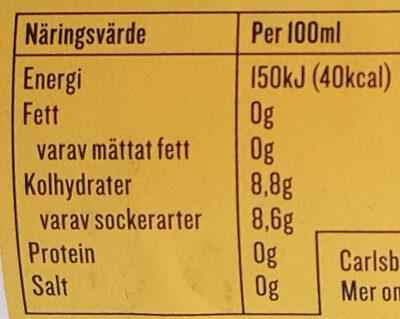 Apotekarnes Påskmust - Informations nutritionnelles - sv