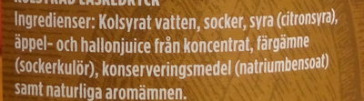 Original Pommac - Ingredients