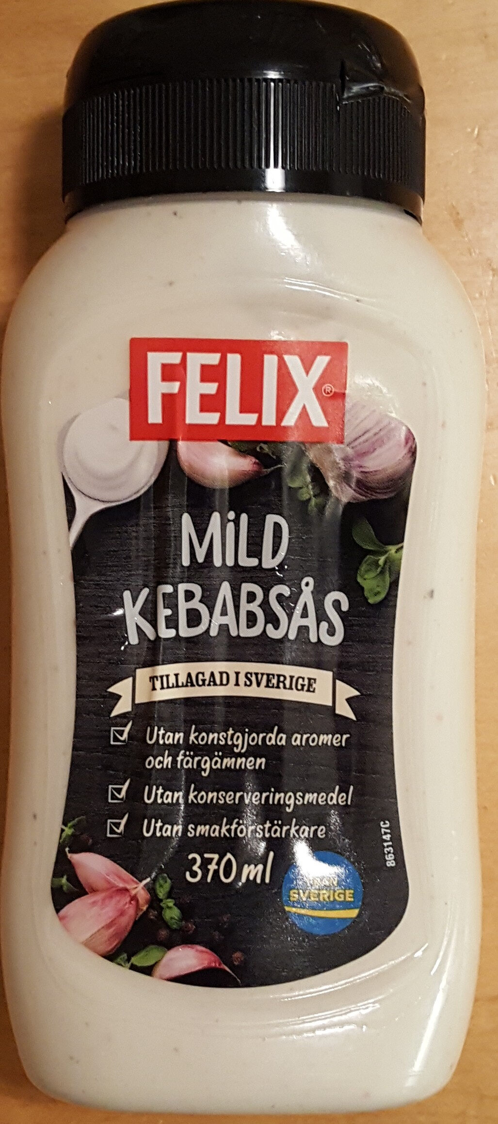 Mild Kebabsås - Produit - sv