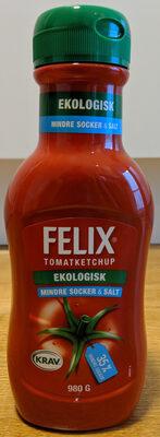 Tomatoketchup ekologisk mindre socker & salt - Product