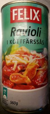 Felix Ravioli i köttfärssås - Produit - sv