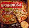 Grandiosa X-tra allt Kyckling + Sås - Produit