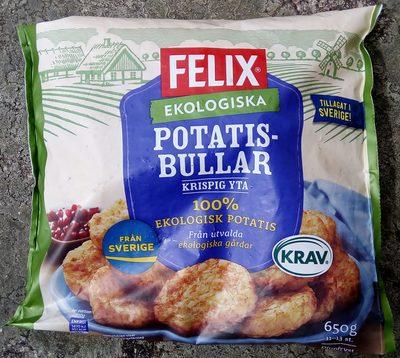 Felix Ekologiska Potatisbullar - Produit - sv
