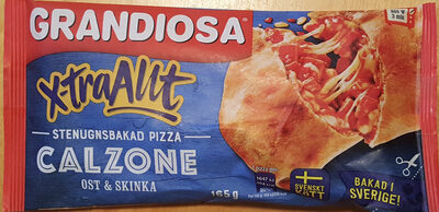 Grandiosa X-tra Allt Calzone Ost & Skinka - Product - sv
