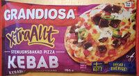 Grandiosa X-tra Allt Kebab - Product - sv