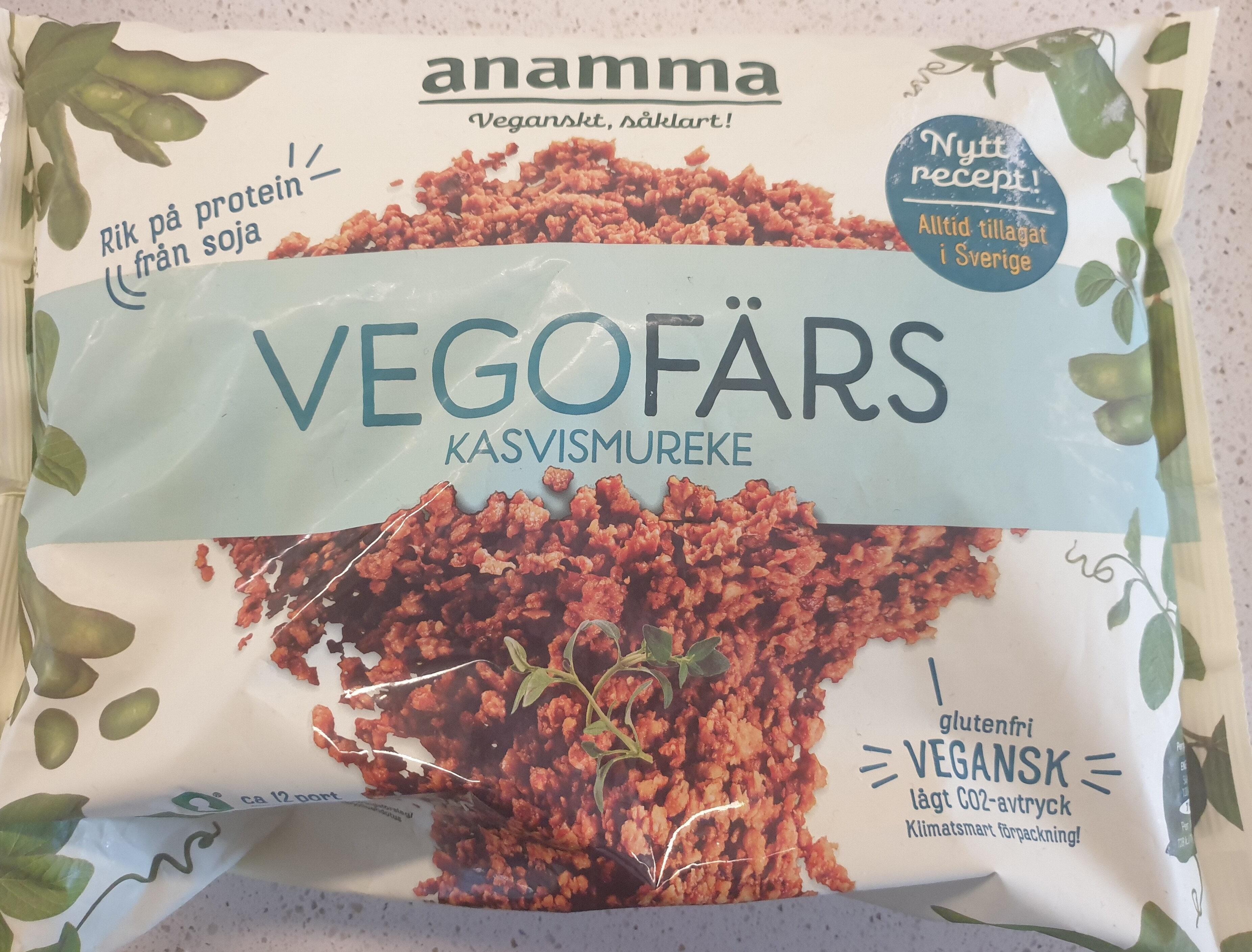 Anamma vegofärs - Produit - sv