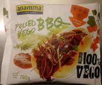 Anamma Pulled Vego BBQ - Produit - sv