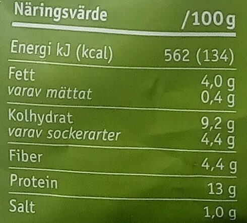 Anamma Chili- & Ingefärastrimlor - Nutrition facts - sv