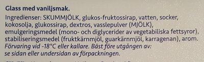 Big Pack Vanilj - Ingrédients - sv