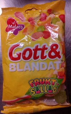 Malaco Gott & Blandat Fruktsallad - Product - sv