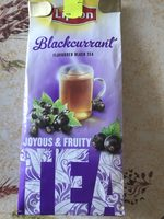 Blackcurrant flavoured black tea - Produit