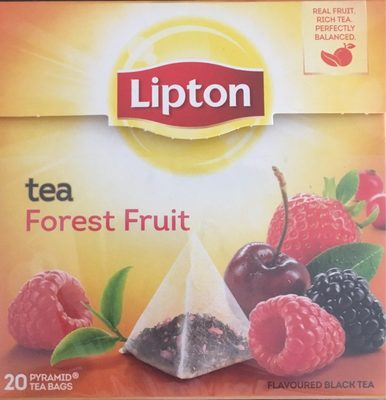 Lipton Tea forest fruit - Product - fr