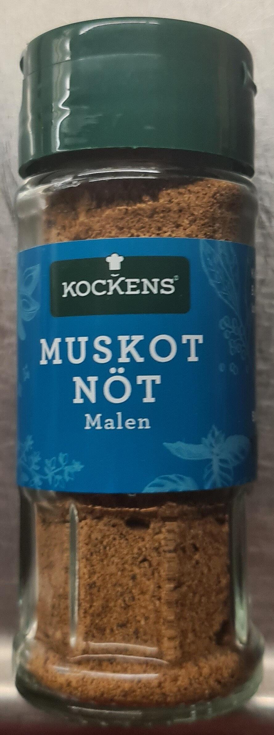 Muskotnöt malen - Produit - sv