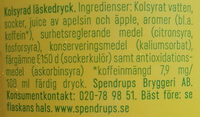 Trocadero - Ingredients