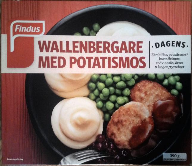 Findus Dagens Wallenbergare med potatismos - Produit