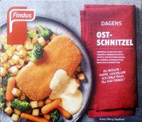 Findus Dagens Ostschnitzel - Produit - sv