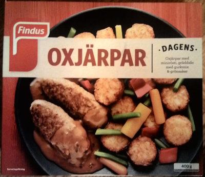 Findus Dagens Oxjärpar - Product - sv