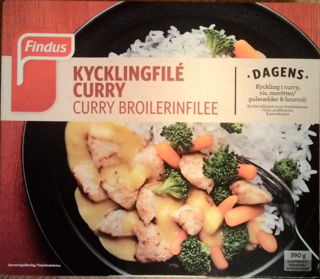 Findus Dagens Kycklingfilé Curry - Product - sv