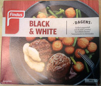 Findus Dagens Black & White - Produit