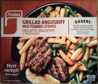 Findus Dagens Grillad Angusbiff med pommes stripes - Product