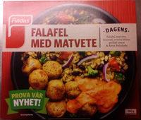 Findus Dagens Falafel med matvete - Product